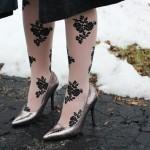 Spring tights with va-va-voom