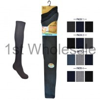 ASSORTED LONG 100% COTTON SOCKS