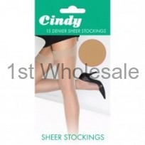 CINDY 15 DENIER SMOOTH KNIT STOCKING
