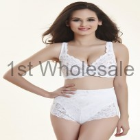 ADIES FULL CUP LACE BRA WITH UNDERWIRE