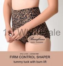 LADIES FIRM CONTROL BRIEF IN LEOPARD PRINT