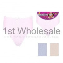 COTTON 3 PACK PASTEL SHADE BIKINI BRIEF