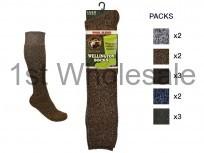Mens Wellington Boot Socks
