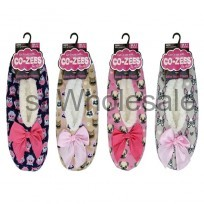 LADIES SOFTEEZ SLIPPER ANIMAL PRINTS