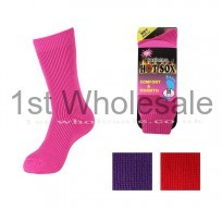 LADIES HOTSOX IN PLAIN ASSORTED COLOURS