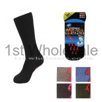 MENS HOTSOX WITH GRIPPER