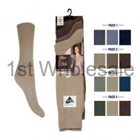 3 PACK CASCADE LYCRA SOCKS FASHION