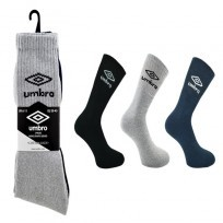 ASSORTED UMBRO SPORT SOCKS