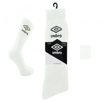 WHITE UMBRO SPORT SOCKS