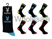 MENS OFFICIAL PLAYBOY SUIT SOCKS
