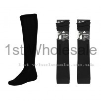 3 PACK KNEE HIGH SOCKS BLACK