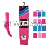 DARK PASTEL LYCRA ANKLE SOCKS