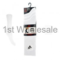 WHITE LYCRA ANKLE SOCKS