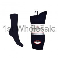 6 PACK ANTONNI ROSSI BLACK LYCRA SOCKS