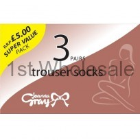 JOANNA GRAY TROUSER SOCKS