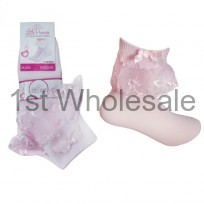 Little Princess Lace Socks in Pink
