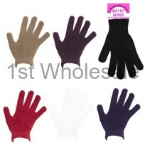 LADIES CHENILE TOUCH GLOVES