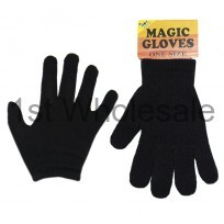 KIDS MAGIC GLOVES IN BLACK