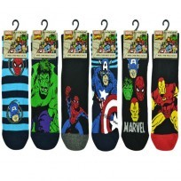 MARVEL OFFICIAL MENS SOCKS