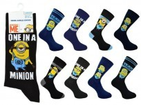 MENS OFFICIAL MINION SOCKS