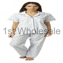 LADIES SHORT SLEEVE COTTON PJ
