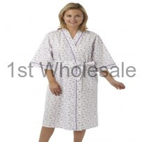 LADIES POLY COTTON WRAP ROUND