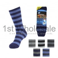 MENS HOTSOX IN STRIPE PATTERN