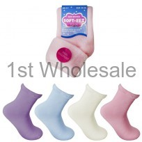 LADIES SOFTEEZ BED SOCK