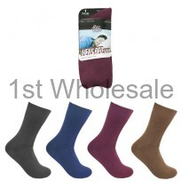 MENS BEDSOCKS ASSORTED COLOURS