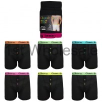 MENS NEON BAND BOXER SHORTS