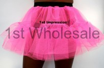 FLO PINK 2 LAYER TUTU. MADE IN THE UK